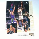 1994-95 Upper Deck San Antonio Spurs Basketball Card #18 David Robinson